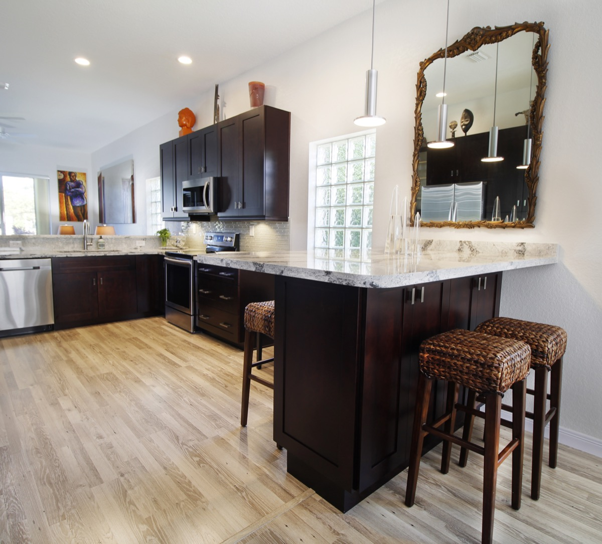 Contemporary Eclectic Kitchen