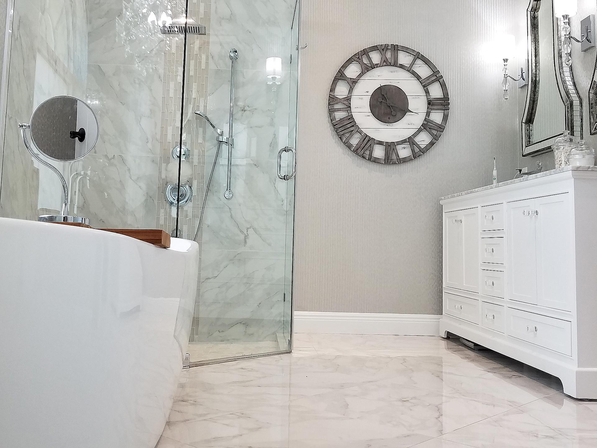 Chic Master Bathroom
